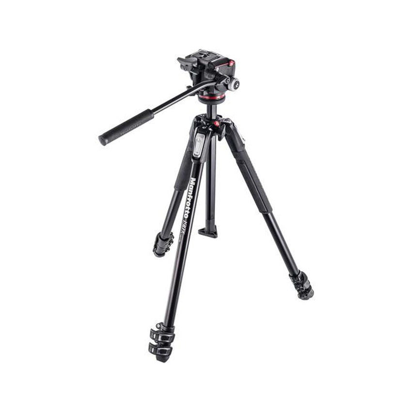 Manfrotto 190X3 Three Section Tripod with MHXPRO-2W Fluid Head (MK190X3-2W)