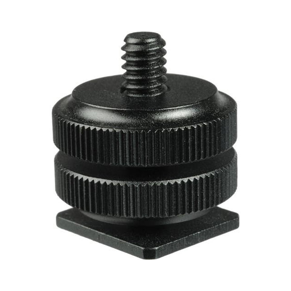 1/4 Camera Tripod Mount Hot / Cold Shoe Adapter for GoPro Mirrorless Camera Action Cam
