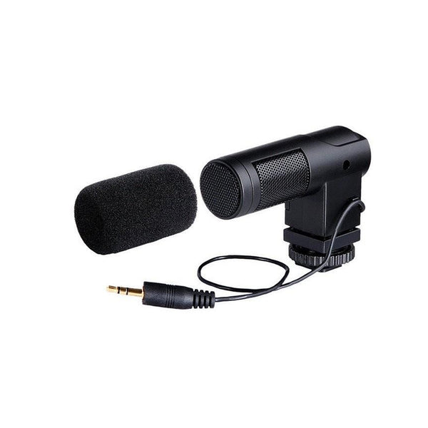 BOYA BY-V01 Stereo Mini Camera Condenser Microphone BYV01 BY-V01
