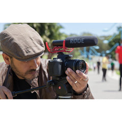 Rode VideoMic Go Lightweight Directional Microphone for DSLR Camcorder Mirrorless