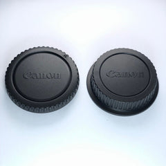 Canon Rear Lens Cover + Front Body Cap for EOS EF DSLR Camera // Replacement Cover
