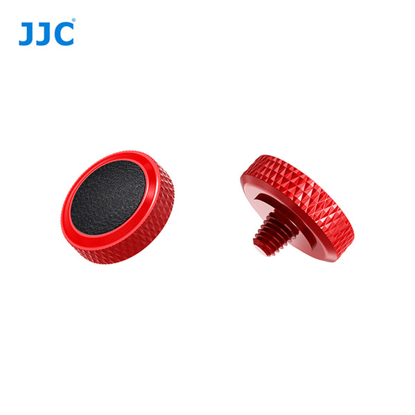 JJC SRB Deluxe Shutter Button Red-Black / Soft Shutter Release (SRB-R BLACK)