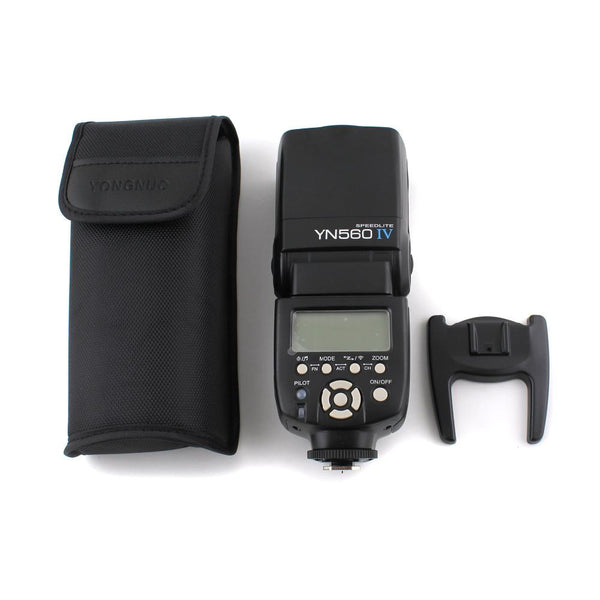 Yongnuo YN560 IV Version 4 Speedlite Flash for Canon Nikon Olympus Pentax Fuji 560iv