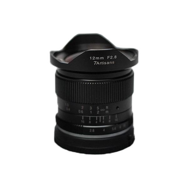 7artisans 12mm f/2.8 Photoelectric ManualLens for Fujifilm Fuji X Mount Mirrorless