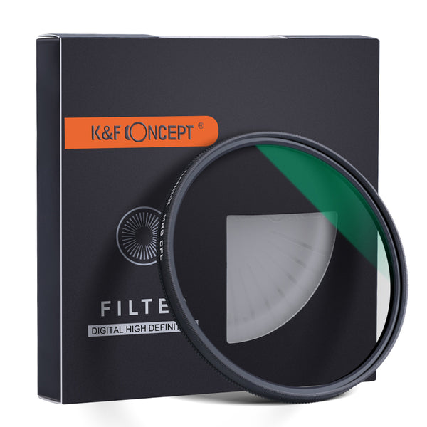 K&F Concept MC CPL Filter Slim Green Multi Coated Japan Import Optical Glass