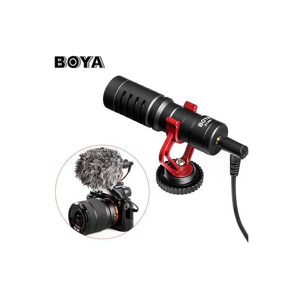 BOYA BY-MM1 Compact On-Camera Video Microphone Youtube Vlogging Recording Mic MM1