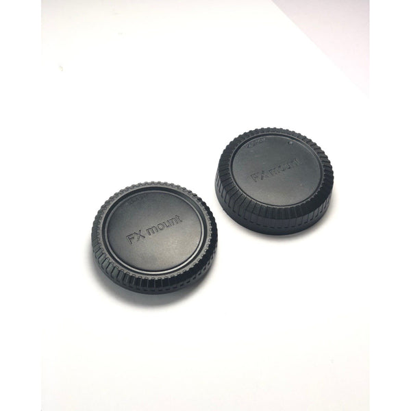 Fujifilm Rear Lens Cover + Front Body Cap for Fujifilm Fuji X Mount  Mirrorless Camera / Replacement Cover