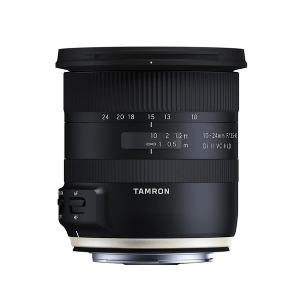Tamron B023 10-24mm f/3.5-4.5 Di II VC HLD Wide Angle Lens for Canon DSLR EF Mount Crop Frame