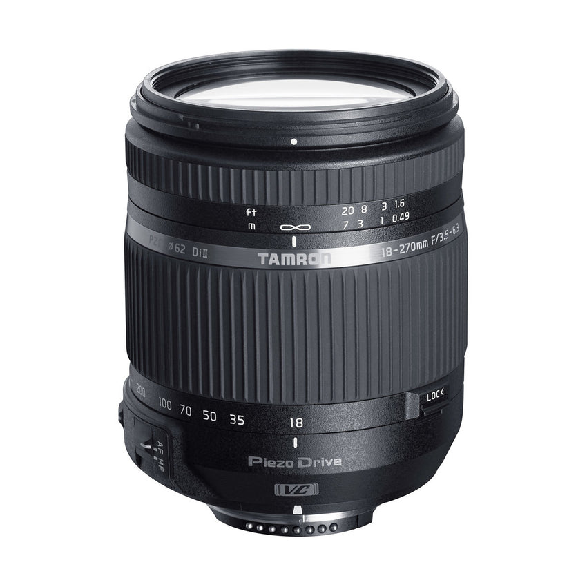 Tamron B008 18-270mm f/3.5-6.3 Di II VC PZD Lens for Canon EF