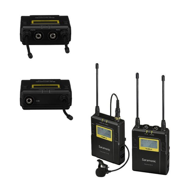 Saramonic UWMIC9 Camera-Mount Wireless Omni Lavalier Microphone System