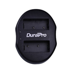 DuraPro 2pcs LP-E10 Battery + Dual USB Charger For Canon 1100D 1200D Kiss X50 X70 Rebel T3 T5