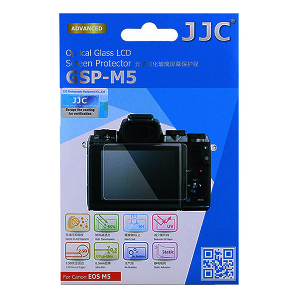 JJC Ultra-thin LCD Screen Protector for Canon EOS M5