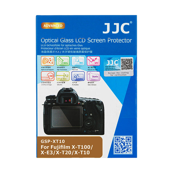 JJC Ultra-thin LCD Screen Protector for Fujifilm X-T30, X-T10, X-T20, X-E3, X-T100
