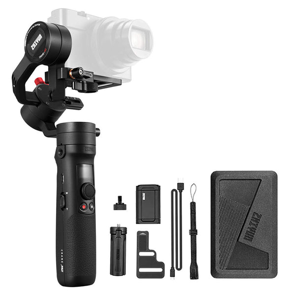 Zhiyun Tech CRANE M2 3 Axis Handheld Gimbal Stabilizer FREE Gimbal Extender Crane M2 // 1 Year Local Warranty Camera Commons PH