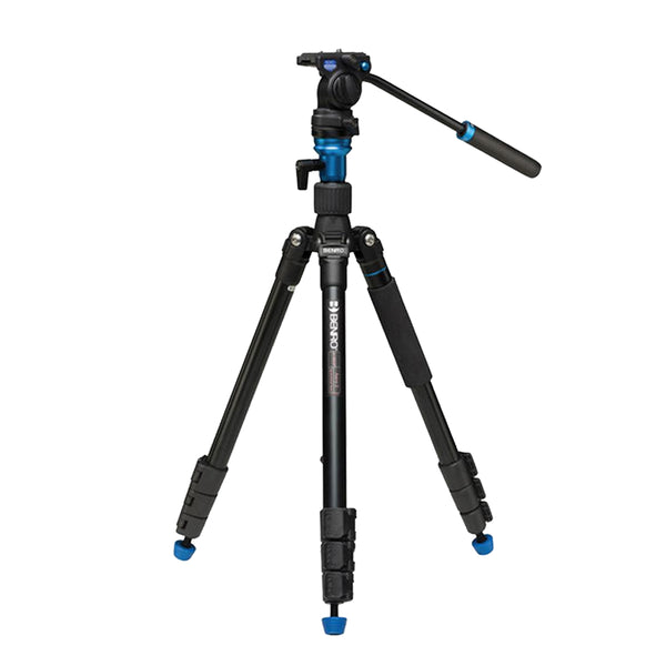 Benro Aero 2 Aluminum Video Travel Angel Tripod Kit (A1883FS2C)