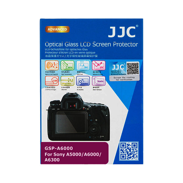 JJC Ultra-thin LCD Screen Protector for SONY A6400 A6300 A6000 A5000