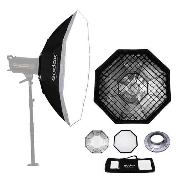 Godox SB-FW140 55 140cm Octagon Softbox Bowens Mount Ring with Grid Honeycomb