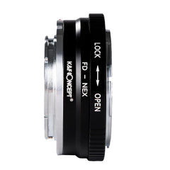 K&F Concept Canon FD Lenses to Sony E Mount Camera Adapter