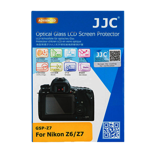 JJC Ultra-thin LCD Screen Protector for NIKON Z6, Z7