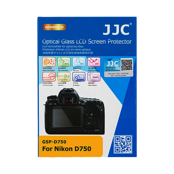 JJC Ultra-thin LCD Screen Protector for Nikon D750