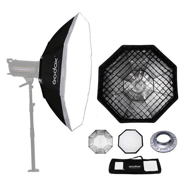 Godox SB-FW95 37 95cm Octagon Softbox Bowens Mount Ring with Grid Honeycomb