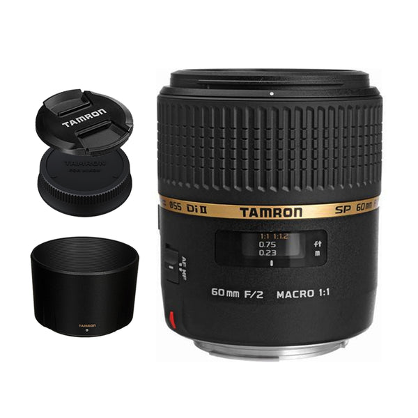 Tamron G005 SP 60mm f/2 Di II 1:1 Macro Prime Lens for Sony DSLR A Mount Crop Frame