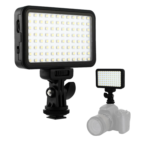 PAD96 Camera Video LED Light 6000K Dimmable Fill Light Continuous Light Panel