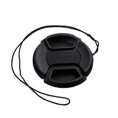 Universal Lens Cap with Anti Lost Rope Canon/Nikon/Sony/Olypmus/Pentax DSLR