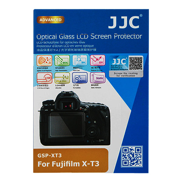 JJC Ultra-thin LCD Screen Protector for FUJIFILM X-T3