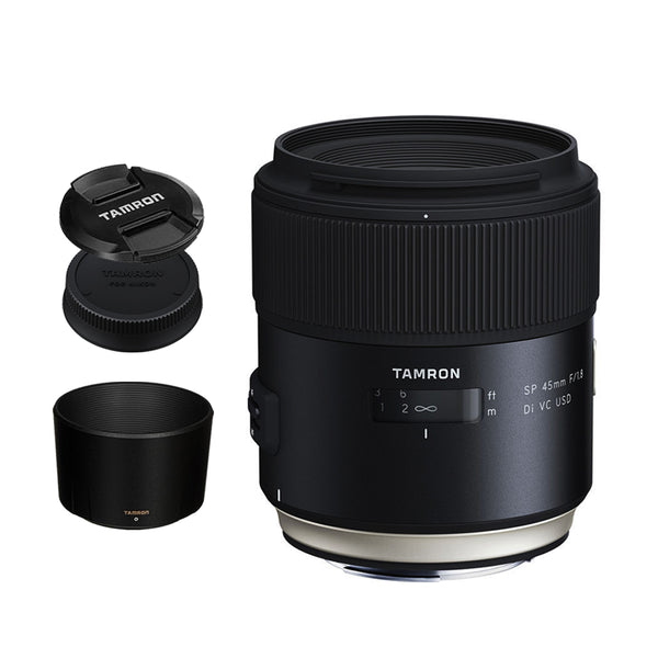 Tamron F013 SP 45mm f/1.8 Di VC USD Prime Lens for Canon DSLR EF Mount Full Frame