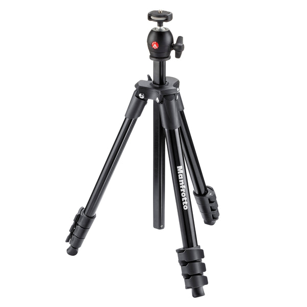 Manfrotto Compact Light Aluminum Tripod (Black) MKCOMPACTLT-BK