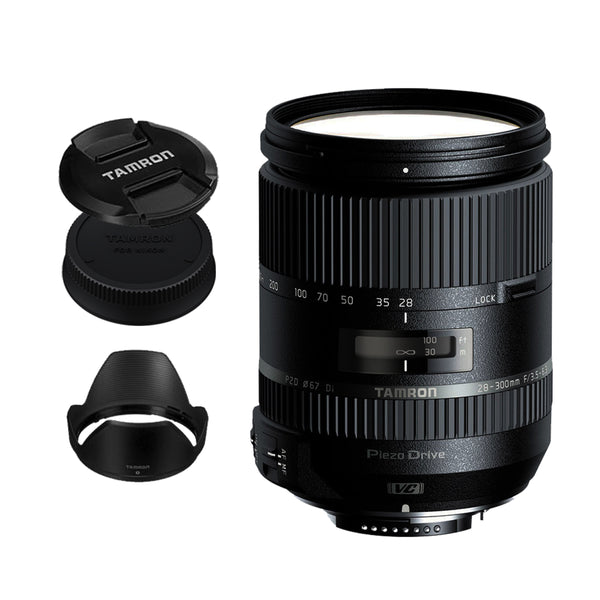 Tamron A010 28-300mm f/3.5-6.3 Di VC PZD Lens for Nikon DSLR Nikon F Mount Full Frame