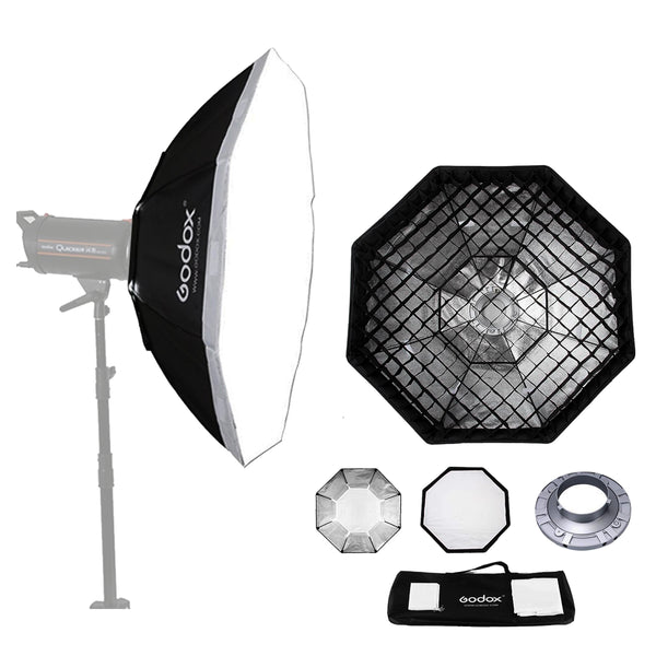 Godox SB-FW120 47  120cm Octagon Softbox Bowens Mount Ring with Grid Honeycomb 78/