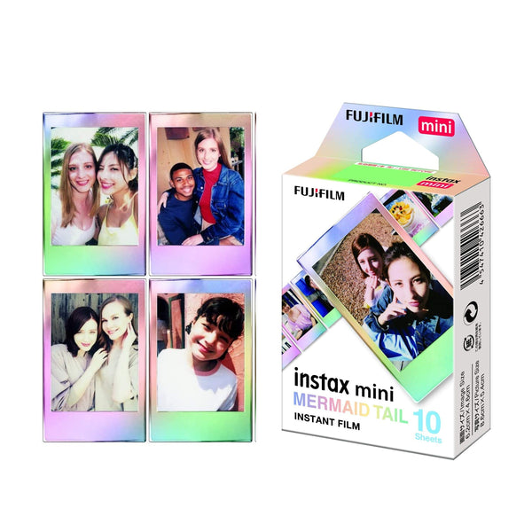 Fujifilm Instax Mini 11 Mermaid Tail Film 10 Sheets