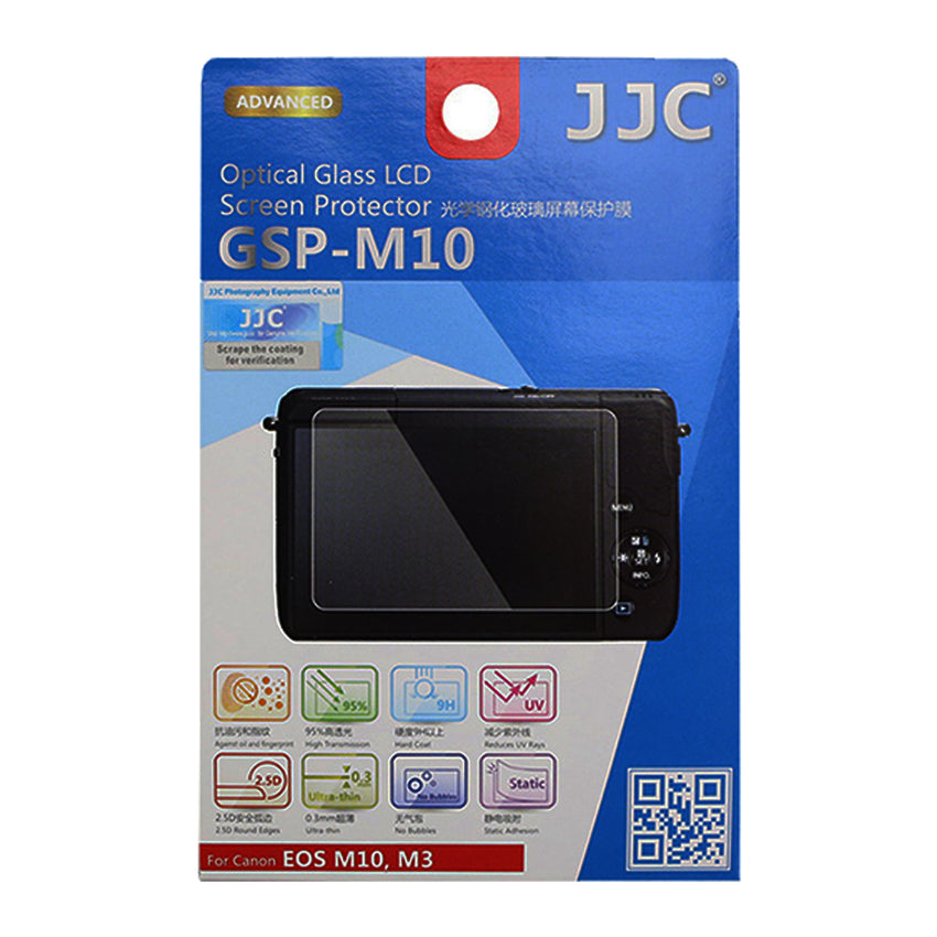JJC Ultra-thin LCD Screen Protector for CANON EOS M10, M3, PowerShot G1 X MarkII