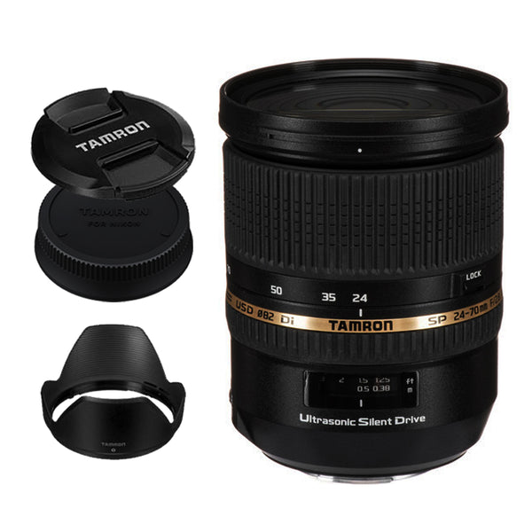 Tamron A007 SP 24-70mm f/2.8 DI VC USD G2 Lens for Canon DSLR EF Mount Full Frame