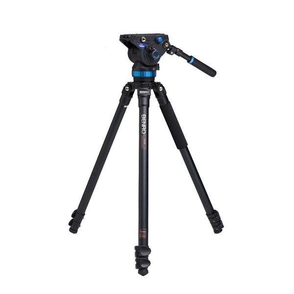 Benro A373FBS8 S8 Video Tripod with S8 head and AL flip Lock legs Kit