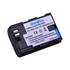 DuraPro Canon LP-E6 Rechargeable Battery for Canon DSLR Cameras