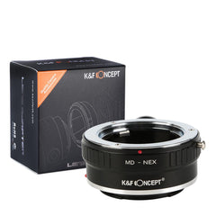K&F Concept Minolta MD MC Lenses to Sony E Mount Camera Adapter