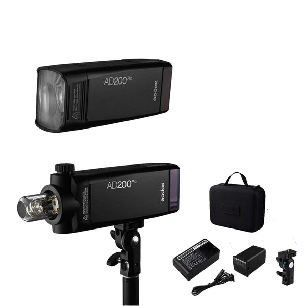 Godox AD200Pro TTL Pocket Flash Kit FREE Cleaning Kit / AD200 Pro Strobe