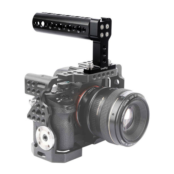 SMALLRIG Top Handle Cheese Handle Grip with Cold Shoe Base for Digital DSLR Camera 1638