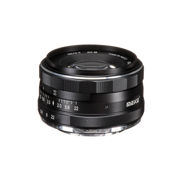 Meike MK-50mm F2.0 50mm f 2.0 Large Aperture Manual Focus lens fit Fujifilm X Mount