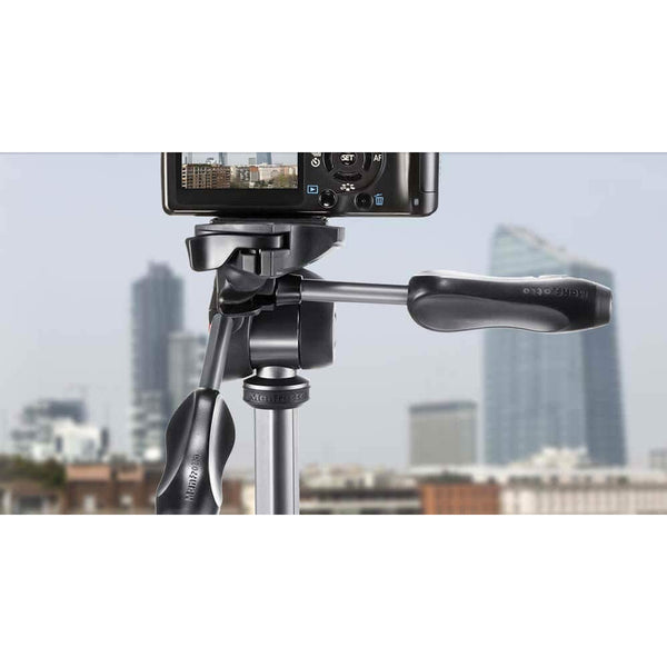 Manfrotto MKCOMPACTADV-BK Tripod with 3-Way Head