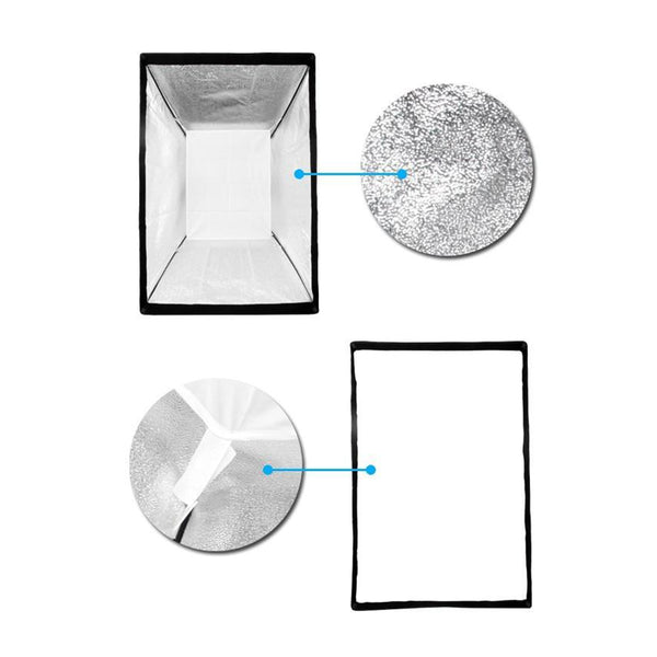 Godox 24 x35  60x90cm Softbox soft box Reflective Diffuser with Bowens Mount for Studio Strobe Flash Light Photography Lighting