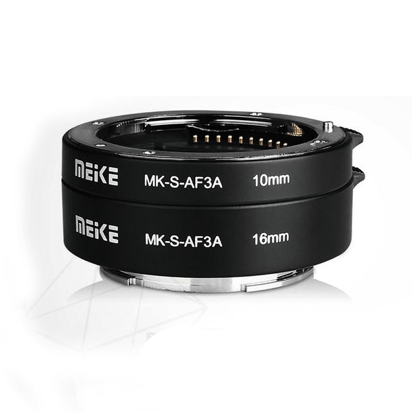 MEIKE MK-S-AF3A Metal AF Macro Extension Tube for Sony Mirrorless (Metal)