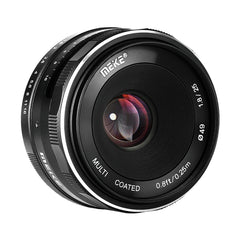 Meike 25mm f/1.8 Wide Angle Manual Lens for Fujifilm Mirrorless Camera / X mount