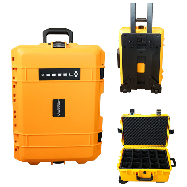 VESSEL CC2 Trolley Hard Case / Photography Equipment Gear Case Large Size with FREE DIVIDER