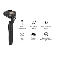 Feiyutech New Vimble 2A Extensible Handheld Gimbal for Action / Sports Camera Feiyu