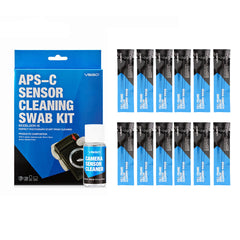 VSGO DDR-16 DSLR or SLR Camera APS-C Sensor Cleaning Kit (12 X 16mm Sensor Cleaning Swabs + 15ml Sensor Cleaner) DDR16