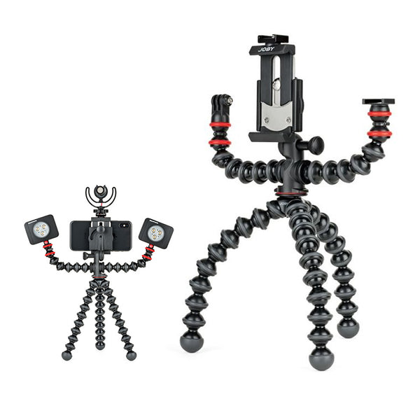 JOBY GorillaPod Mobile Rig for Vlogging Tripod Rig for Mobile Phone Video (1533)